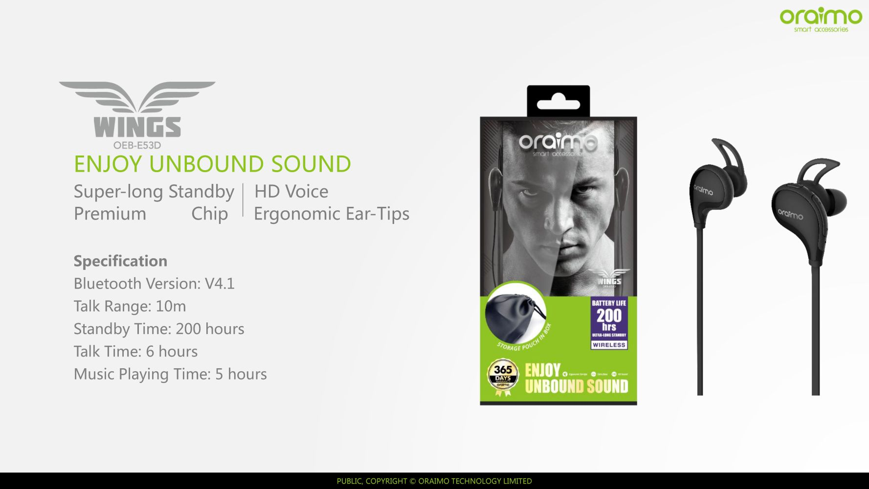 734a1f5e4ed You're viewing: oraimo – Wings – Sports wireless earphone with ergonomic  ear-tips £ 60.00