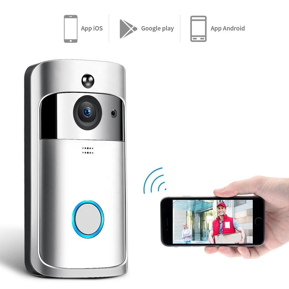 Wifi smart doorbell camera ring video wireless phone intercom doorbell